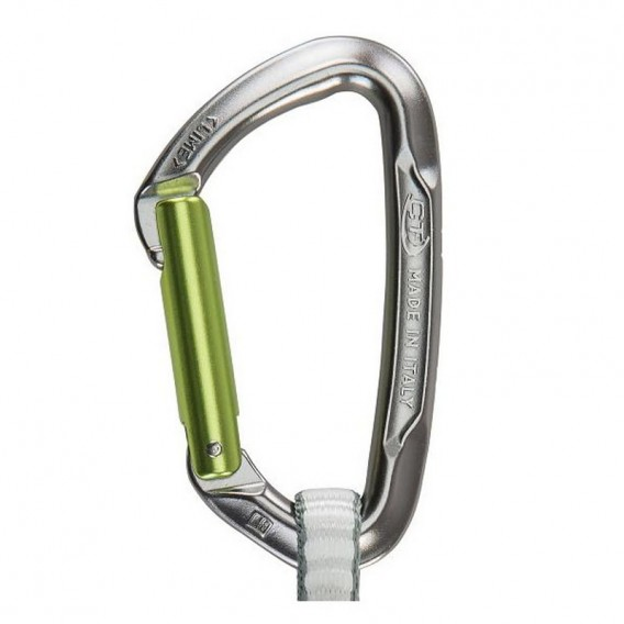 Climbing Technology Lime DY Straight Gate / Bent Gate Express Set 17cm hier im Climbing Technology-Shop günstig online bestellen