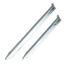 Nordisk Steel V-Peg Zelthering aus Stahl 6 Stück