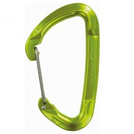 Climbing Technology Lime WG WireGate Karabiner green