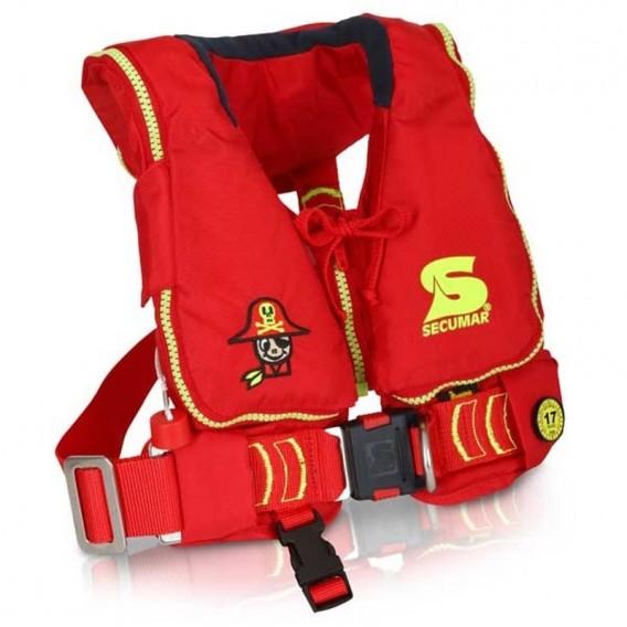 Secumar Mini Duo Protect aufblasbare Kinder Rettungsweste hier im Secumar-Shop günstig online bestellen