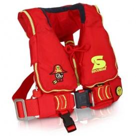 Secumar Mini Duo Protect aufblasbare Kinder Rettungsweste