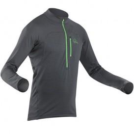 Palm Seti Longsleeve Herren Fleece Paddel Unterwäsche Funktionsshirt jet grey hier im Palm-Shop günstig online bestellen
