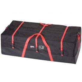 Grabner Universal Packtasche für Boote max. 120 x 60 x 35 cm schwarz-rot