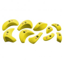 Ocun Holds Set 1 Pinches Klettergriffe yellow