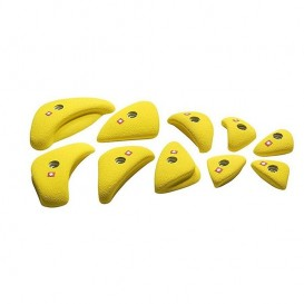Ocun Holds Set 4 Edges Klettergriffe yellow