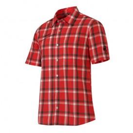 Mammut Zermatt Shirt Herren Outdoor Kurzarmhemd poppy im ARTS-Outdoors Mammut-Online-Shop günstig bestellen
