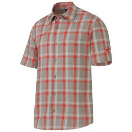 Mammut Zermatt Shirt Herren Outdoor Kurzarmhemd oak hier im Mammut-Shop günstig online bestellen
