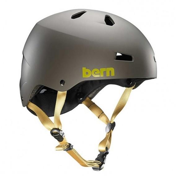 Bern Macon H2O Helm für Wakeboard Kajak Wassersport matte charcoal hier im Bern-Shop günstig online bestellen