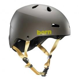Bern Macon H2O Helm für Wakeboard Kajak Wassersport matte charcoal