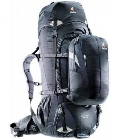Deuter Quantum 70 + 10 Trekkingrucksack Reiserucksack Daypack black-silver