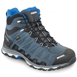 Meindl X-SO 70 Mid GTX-R Surround Herren Wanderschuhe anthrazit-blau