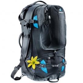 Deuter Traveller 60 + 10 SL Damen Trekkingrucksack Reiserucksack 60L black-turquoise im ARTS-Outdoors Deuter-Online-Shop günstig