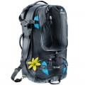 Deuter Traveller 60 + 10 SL Damen Trekkingrucksack Reiserucksack 60L black-turquoise
