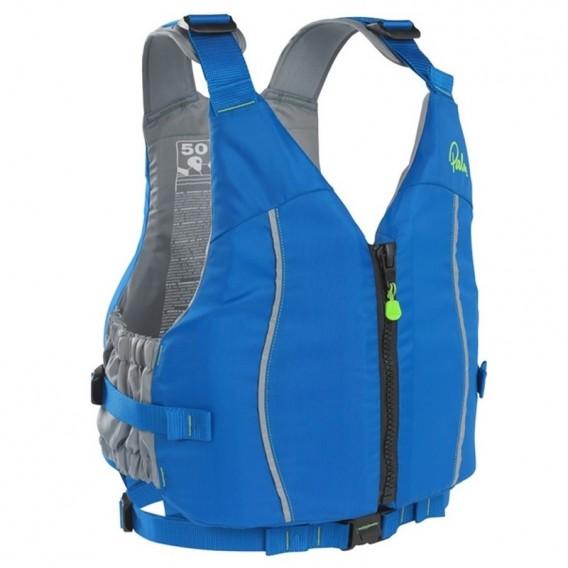 Palm Quest PFD Touringweste Sicherheits Paddelweste blue hier im Palm-Shop günstig online bestellen