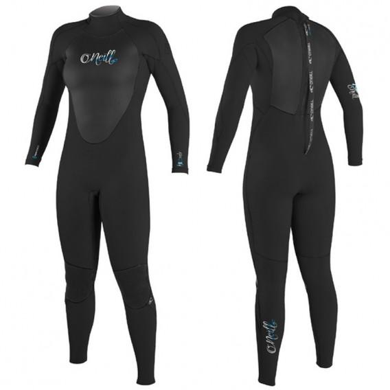 ONeill Epic 4/3mm Damen Neoprenanzug Fullsuit schwarz hier im ONeill-Shop günstig online bestellen