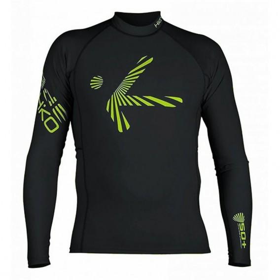 Hiko Shade Plush Teddy Fleece Lycra langarm Oberteil Funktionsshirt schwarz hier im Hiko-Shop günstig online bestellen