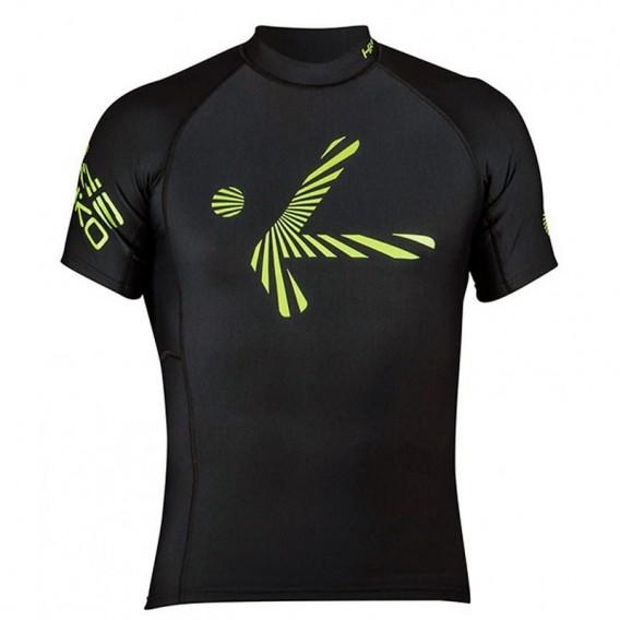 Hiko Shade Plush Teddy Fleece Lycra kurzarm Oberteil Funktionsshirt schwarz hier im Hiko-Shop günstig online bestellen