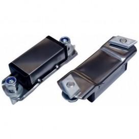 Prijon Adapter für Ovalbügel Edelstahl Adapter für Dachträger mit Nut
