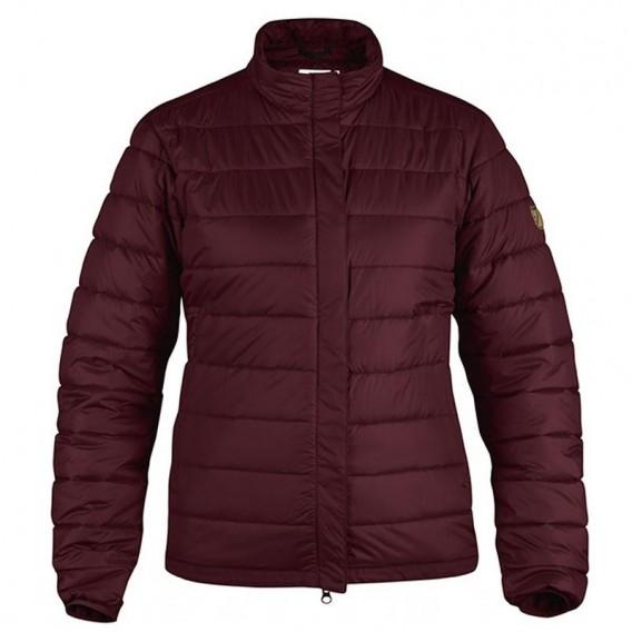 Fjällräven Keb Padded Jacket Damen Outdoorjacke Winterjacke dark garnet hier im Fjällräven-Shop günstig online bestellen