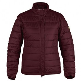 Fjällräven Keb Padded Jacket Damen Outdoorjacke Winterjacke dark garnet