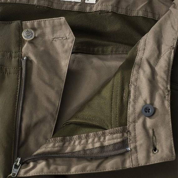 Fjällräven Lappland Hybrid Trousers Herren Outdoorhose dark olive-dark olive hier im Fjällräven-Shop günstig online bestellen