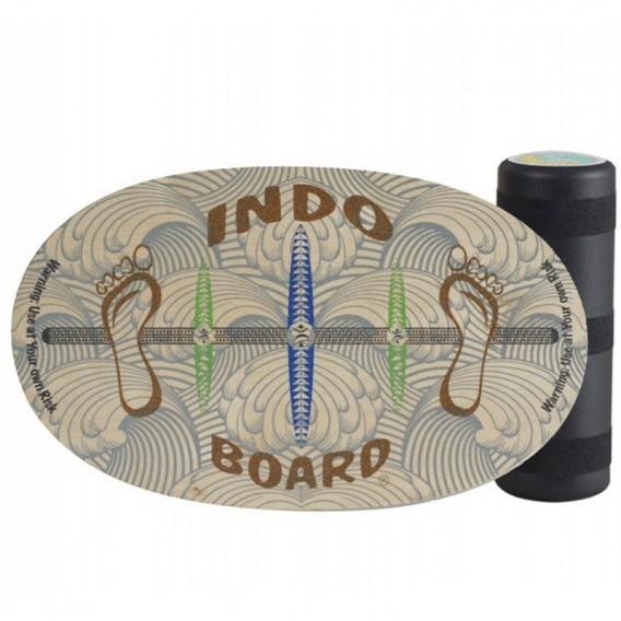 Indoboard Original Barefoot Balancetrainer inkl. Rolle und DVD im ARTS-Outdoors Indo Board-Online-Shop günstig bestellen