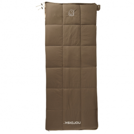 Nordisk Almond Junior +10° Kinder Deckenschlafsack aus Baumwolle