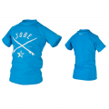 Jobe Rash Guard Jungen Lycra Stretch Oberteil blue