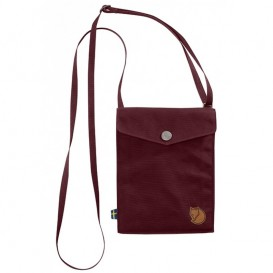 Fjällräven Pocket kleine Umhängetasche dark garnet hier im Fjällräven-Shop günstig online bestellen