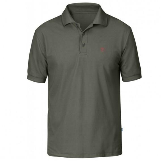 Fjällräven Crowley Piqué Shirt Herren Polohshirt mountain grey hier im Fjällräven-Shop günstig online bestellen