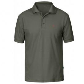 Fjällräven Crowley Piqué Shirt Herren Polohshirt mountain grey im ARTS-Outdoors Fjällräven-Online-Shop günstig bestellen