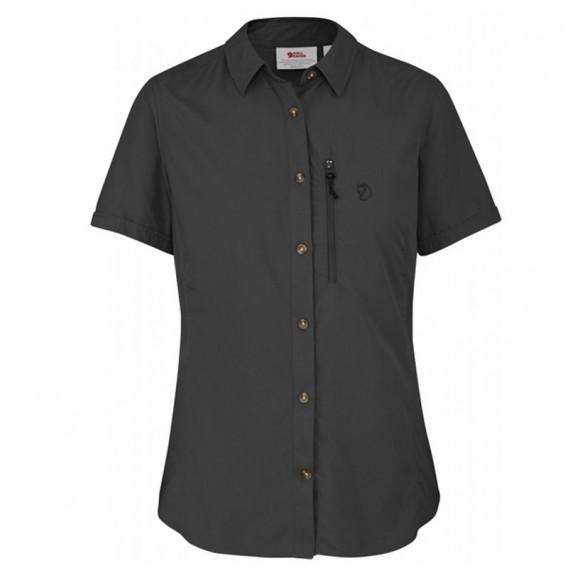 Fjällräven Abisko Hike Shirt Damen Hemd Kurzarmbluse dark grey im ARTS-Outdoors Fjällräven-Online-Shop günstig bestellen