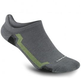 Meindl XO Sneaker Sock Pro Sneakersocken lemon-grau hier im Meindl-Shop günstig online bestellen