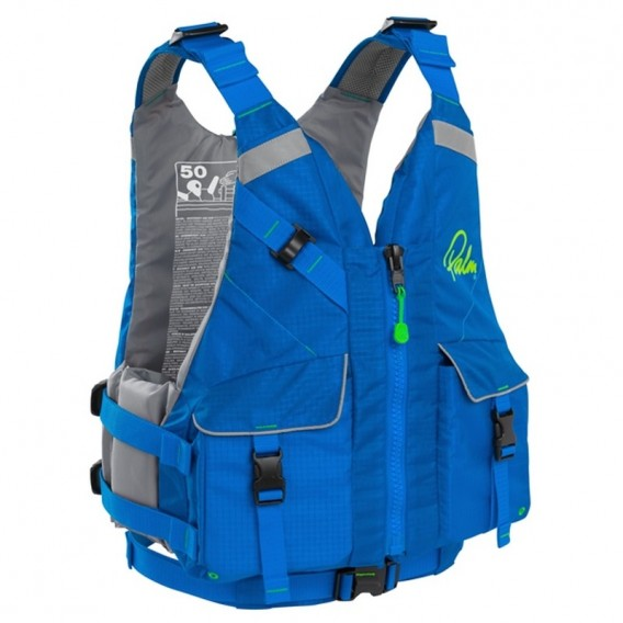 Palm Hydro PFD Touringweste Sicherheits Schwimmweste blue hier im Palm-Shop günstig online bestellen