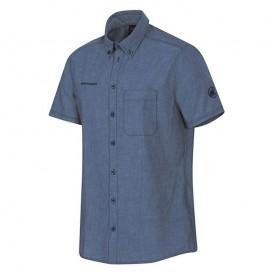 Mammut Trovat Shirt Herren Kurzarmhemd Hemdbluse marine