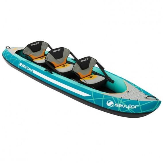5ef273d57cea Sevylor Alameda 3er Kajak Luftboot Schlauchboot Familienkajak im  ARTS-Outdoors Sevylor-Online-Shop