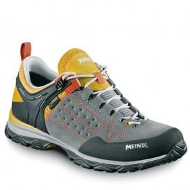 Meindl Ontario GTX Damen Wanderschuh Trekkingschuh gelb-grau