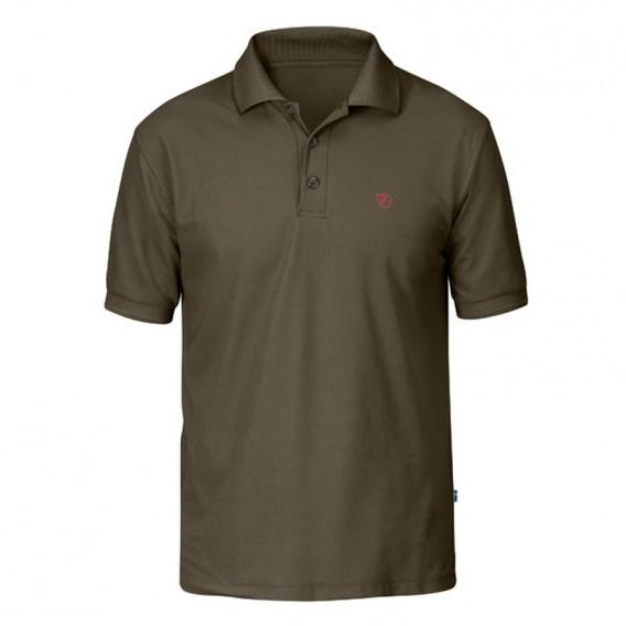 Fjällräven Crowley Piqué Shirt Herren Polohshirt tarmac hier im Fjällräven-Shop günstig online bestellen