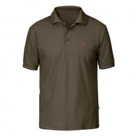 Fjällräven Crowley Piqué Shirt Herren Polohshirt tarmac