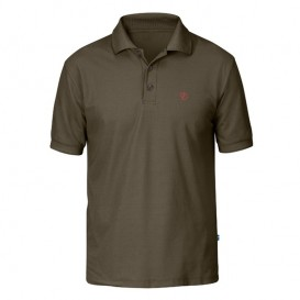 Fjällräven Crowley Piqué Shirt Herren Poloshirt tarmac