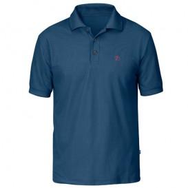 Fjällräven Crowley Piqué Shirt Herren Poloshirt uncle blue