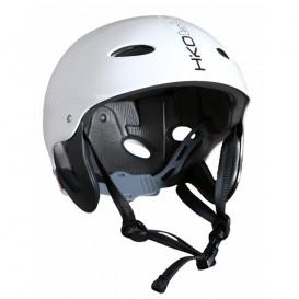 Hiko Buckaroo Kajakhelm Wassersport Paddel Helm mit Ohrenschutz white