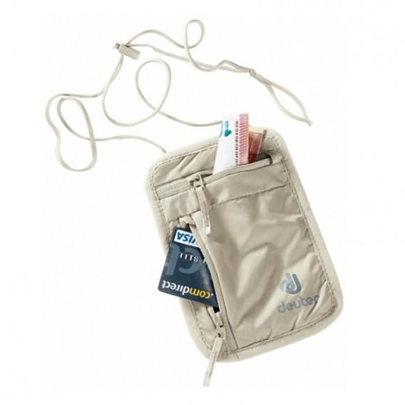Deuter Security Wallet I Brustbeutel für Wertsachen sand im ARTS-Outdoors Deuter-Online-Shop günstig bestellen