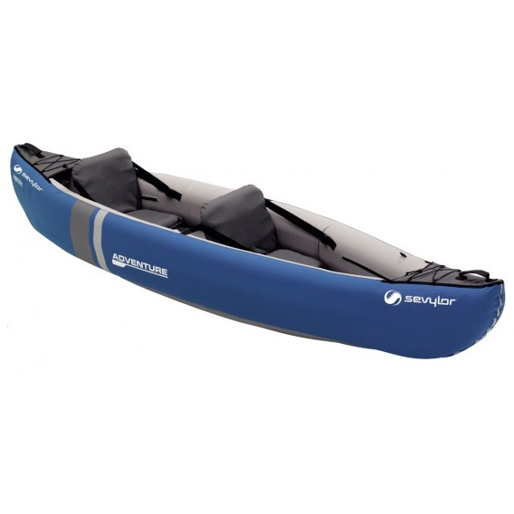 6709eb74be0e Sevylor Adventure 2er Kajak Luftboot Schlauchboot blau im ARTS-Outdoors  Sevylor-Online-Shop