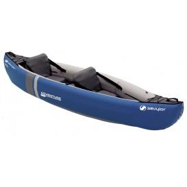 Sevylor Adventure 2er Kajak Luftboot Schlauchboot blau