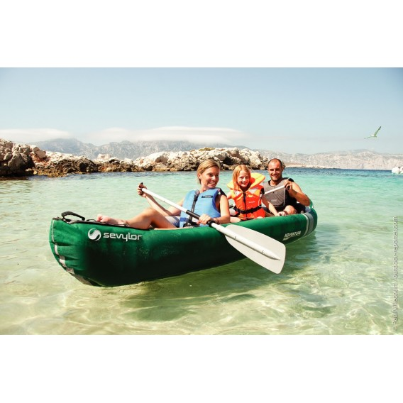 Sevylor Adventure Plus Kajak Luftboor Schlauchboot grün im ARTS-Outdoors Sevylor-Online-Shop günstig bestellen