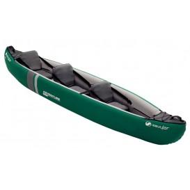 Sevylor Adventure Plus Kajak Luftboor Schlauchboot grün