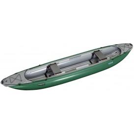Gumotex Palava 2er Kanadier Schlauchboot Trekking Kanu grün