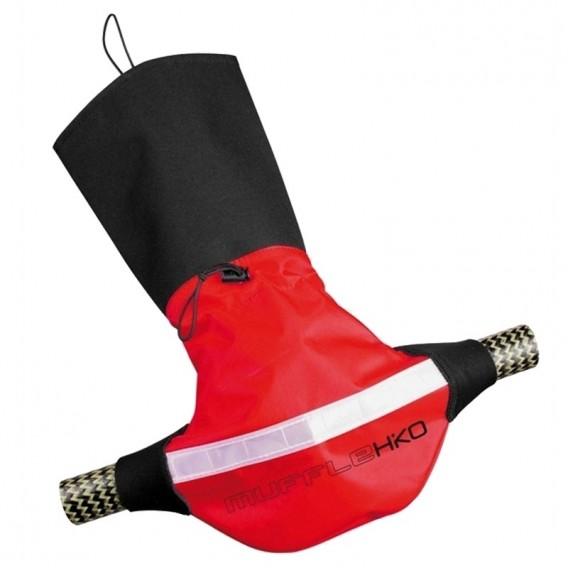 Hiko Muffle Poggies Paddelpfötchen Handschuhe schwarz rot hier im Hiko-Shop günstig online bestellen