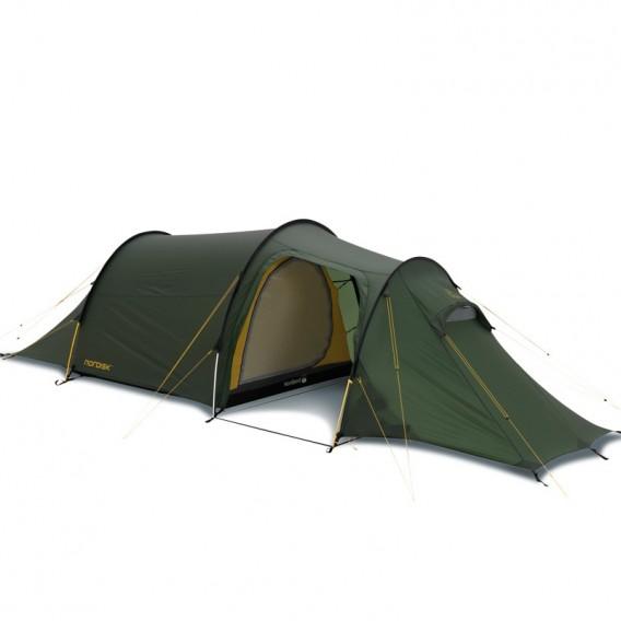 Nordisk Oppland 2 SI Camping Tunnelzelt 2 Personen green hier im Nordisk-Shop günstig online bestellen